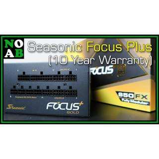 Seasonic Focus Plus Full Modular 80+ Gold Power Supply