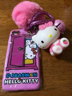iPhone 7 (ip7) Hello Kitty Doraemon 多啦A夢 case 手機殼