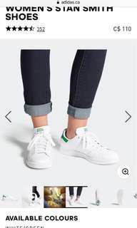 Adidas Miss Stan Size 8