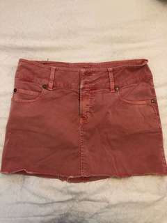 DKNY authentic Cute pink mini skirt