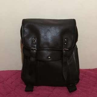 Salvatore Mann Unisex Faux Leather Bag