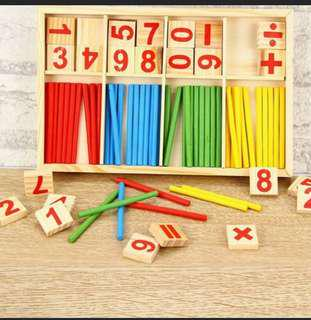 MONTESSORI MATH LEARNING TOOL