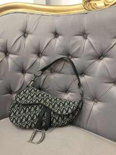 💯Authentic Original Christian Dior Monogram Saddle Bag