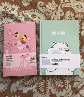 Miniso Memo book & Notebook