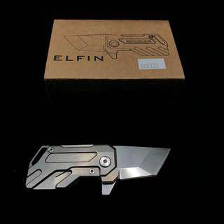 Manker Elfin Titanium Knife