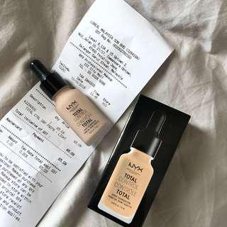 Nyx Total Control Foundation(Light)