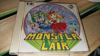 Pc engine cd rom --Monater Liar
