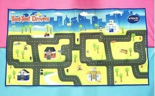 Vtech Baby Toot-Toot Drivers Lightweight Portable Playmat