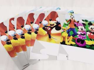 Mickey and Friends Party Supplies Paper Box