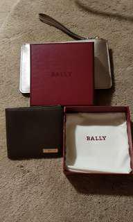 Authentic Bally Saffiano leather wallet