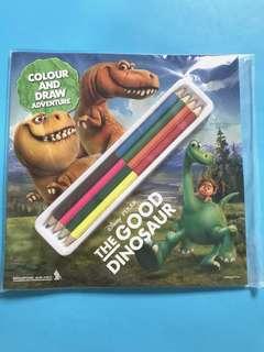 BN Disney The Good Dinosaur Colouring Book