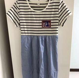 New Casual Maternity Dress