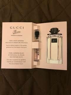 Gucci Flora 香水試用裝 1.5ml(如圖),$18一支。 最後一件。  茘枝角交收或另加郵寄費$4.0(郵寄不包風險)。