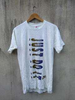 Vintage nike just do it tshirt