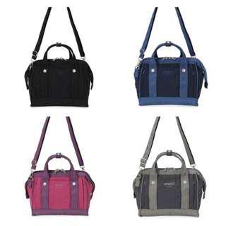 [Re-Stock] Japan Anello 2 Way Mini Boston Shoulder Sling Bag~ Original 100% Authentic ☆New Release ☆AP-H1453