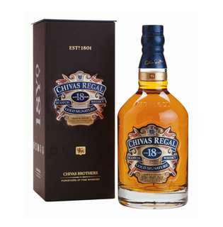 [With Box] Chivas Regal 18 Year Old - Gold Signature Whisky 750ml