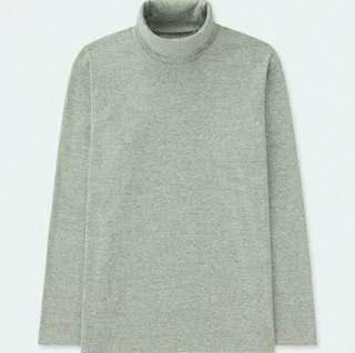 Uniqlo Cotton Turtleneck Long Sleeve