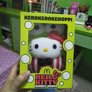 Kerokerokeroppi Hello Kitty m MacDonald's  bubbly world