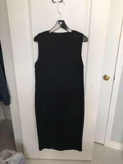Oak & Fort - black long dress