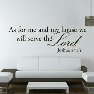 Christian wall paper for living room