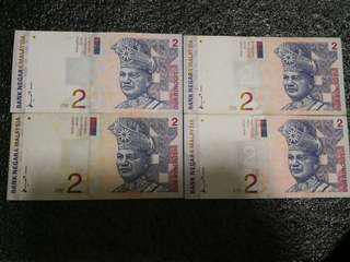 Rm2 8th series Mohd Don signiture