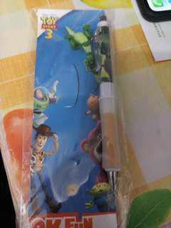 迪士尼 反斗奇兵 3 綠色恐龍 鉛芯筆