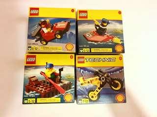 98到00年 SHELL特別珍藏版 LEGO  標價為每盒價錢,全買可小議價。  全新未開樂高 2535 2536 2537 2544 懷舊玩具 misb LEGO