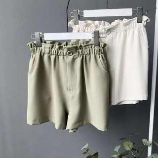 HighWaist Stretchy Shorts