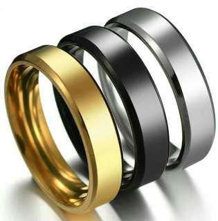 Couple ring (Silver,Black,Gold) free engravement
