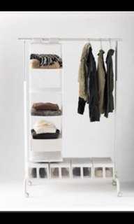 Ikea-Rigga Clothing Rack