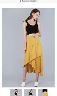 TTR Yule Tiered Skirt in Honey S