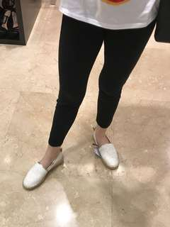 Zara white espadrilles shoes size 36 (22,5cm)