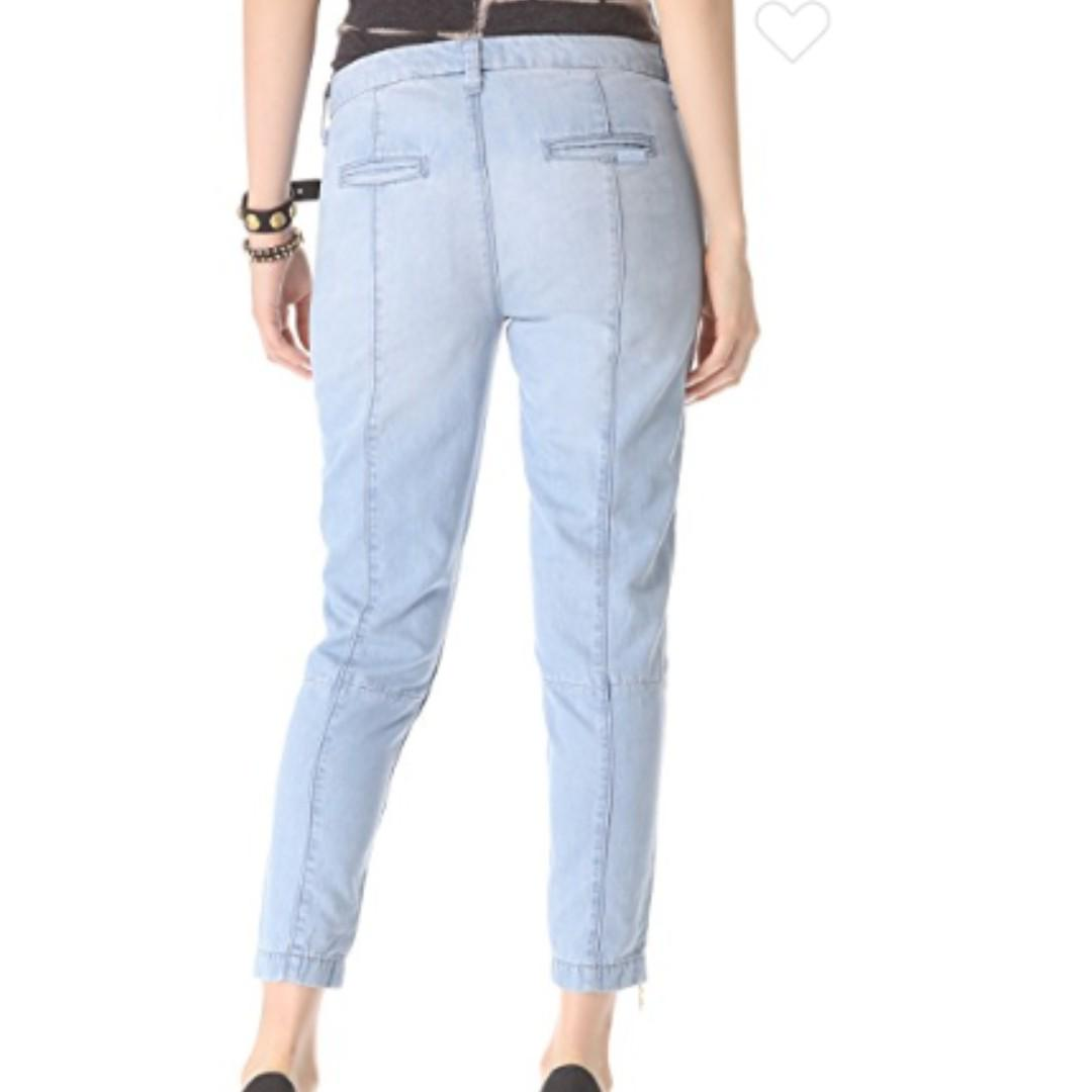 7 For All Mankind Zip Chino Pants size 26