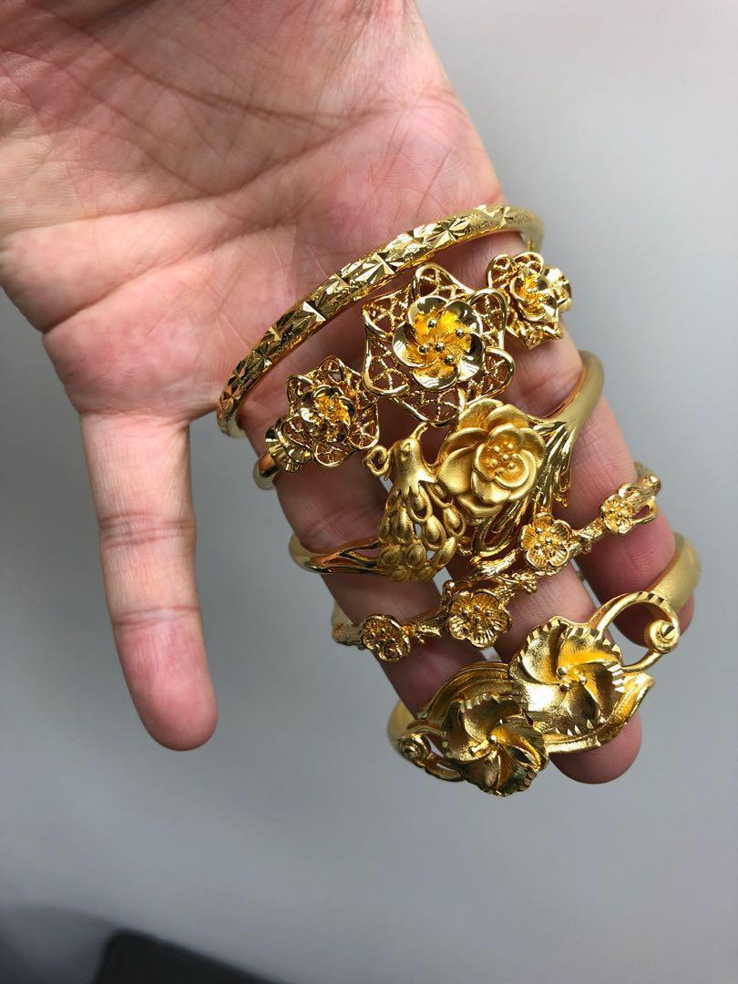 結婚 仿金金器 手鐲 wedding bracket