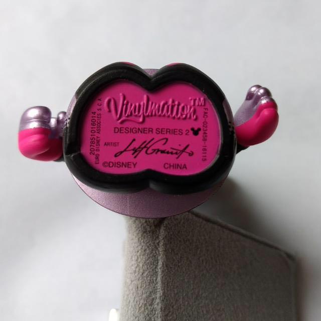迪士尼 白雪公主 Disney Land Snow White Evil Queen Metallic  Vinylmation Granito Designer Series 2