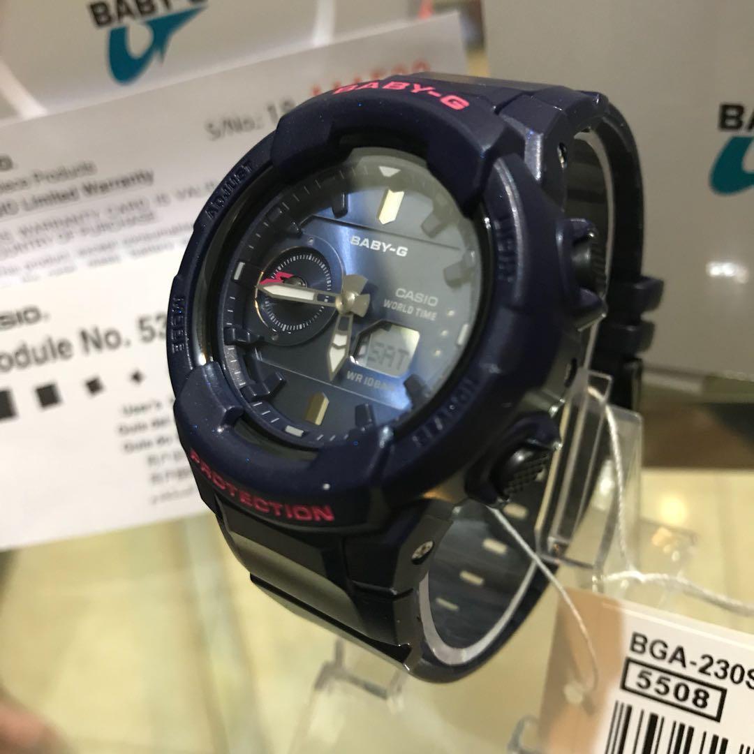 Authentic Baby G Bga 230s Preloved Womens Fashion Watches On Casio Bg 1006sa 1 Original Share This Listing