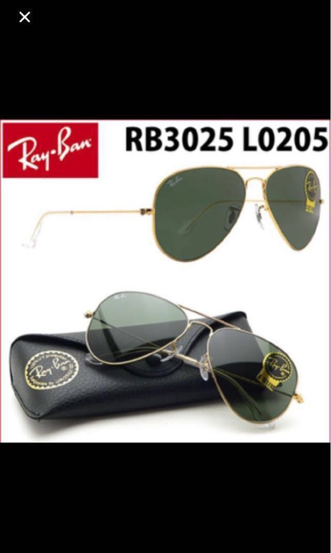 edb207d3e Rayban 3025 L0205, Women's Fashion, Accessories, Eyewear & Sunglasses on  Carousell