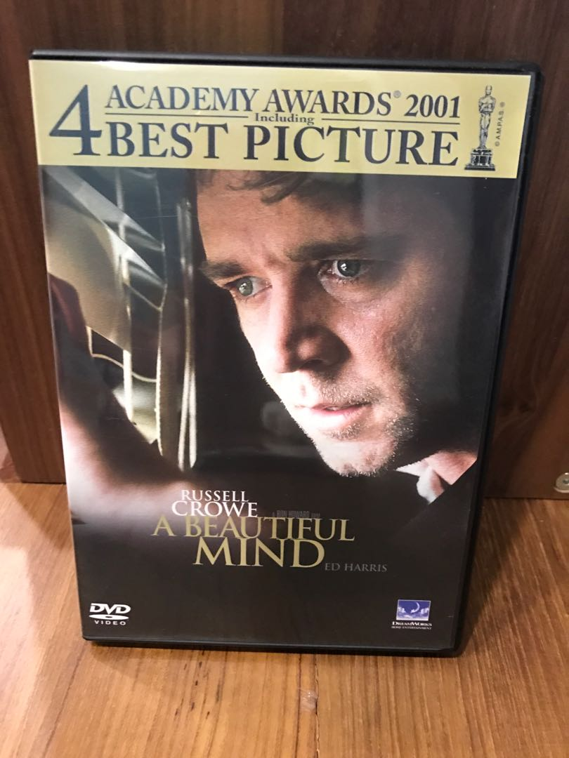 A Beautiful Mind DVD Music Media CDs DVDs Other On Carousell