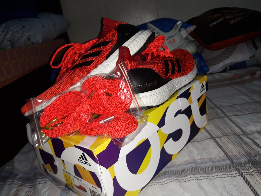 9b8d889963c4 Adidas Ultra Boost Ultraboost Uncaged Olympic Red not Yeezy not NMD ...