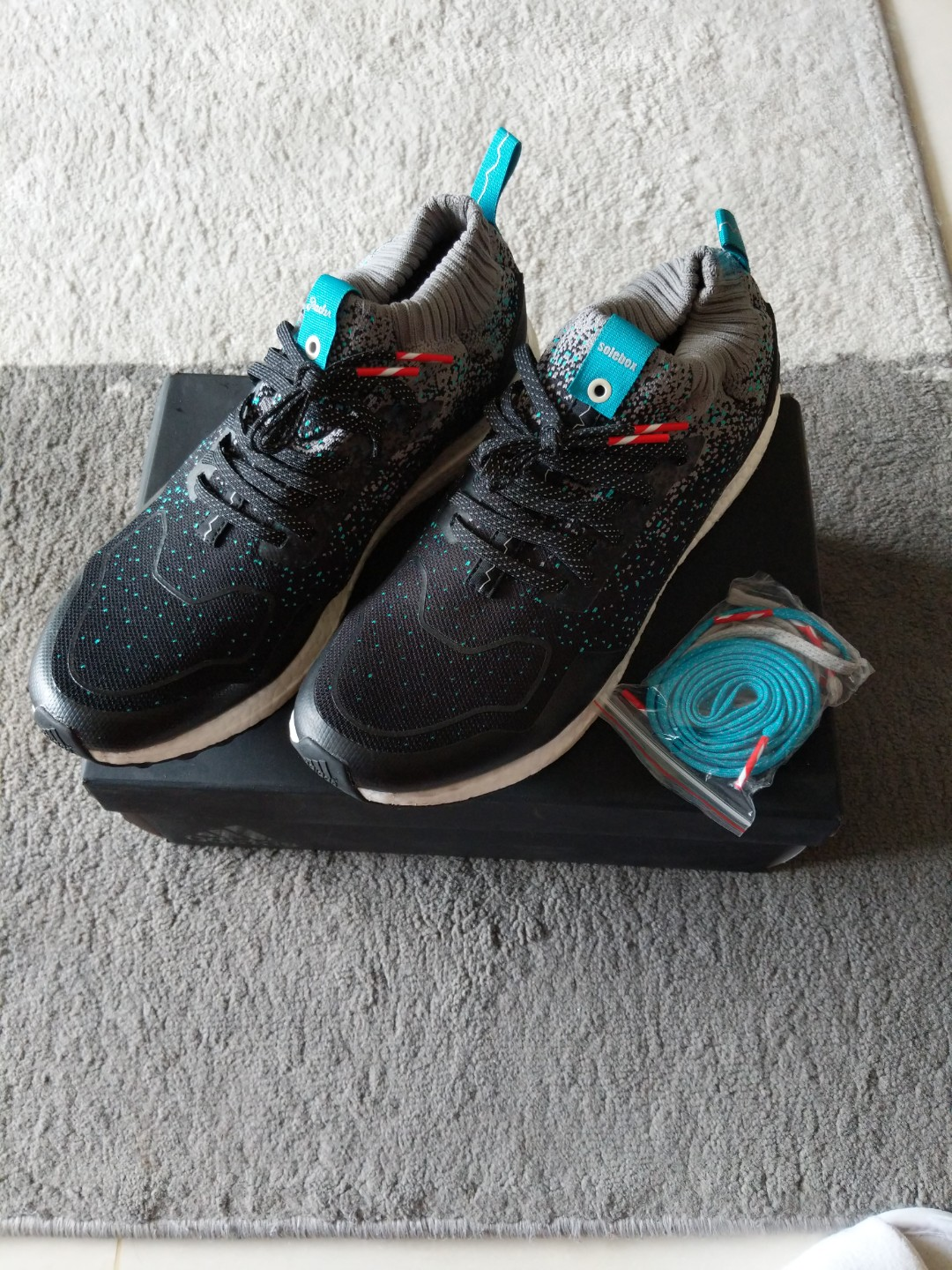 13df5869767ae Adidas x solebox x packers ultra boost mid