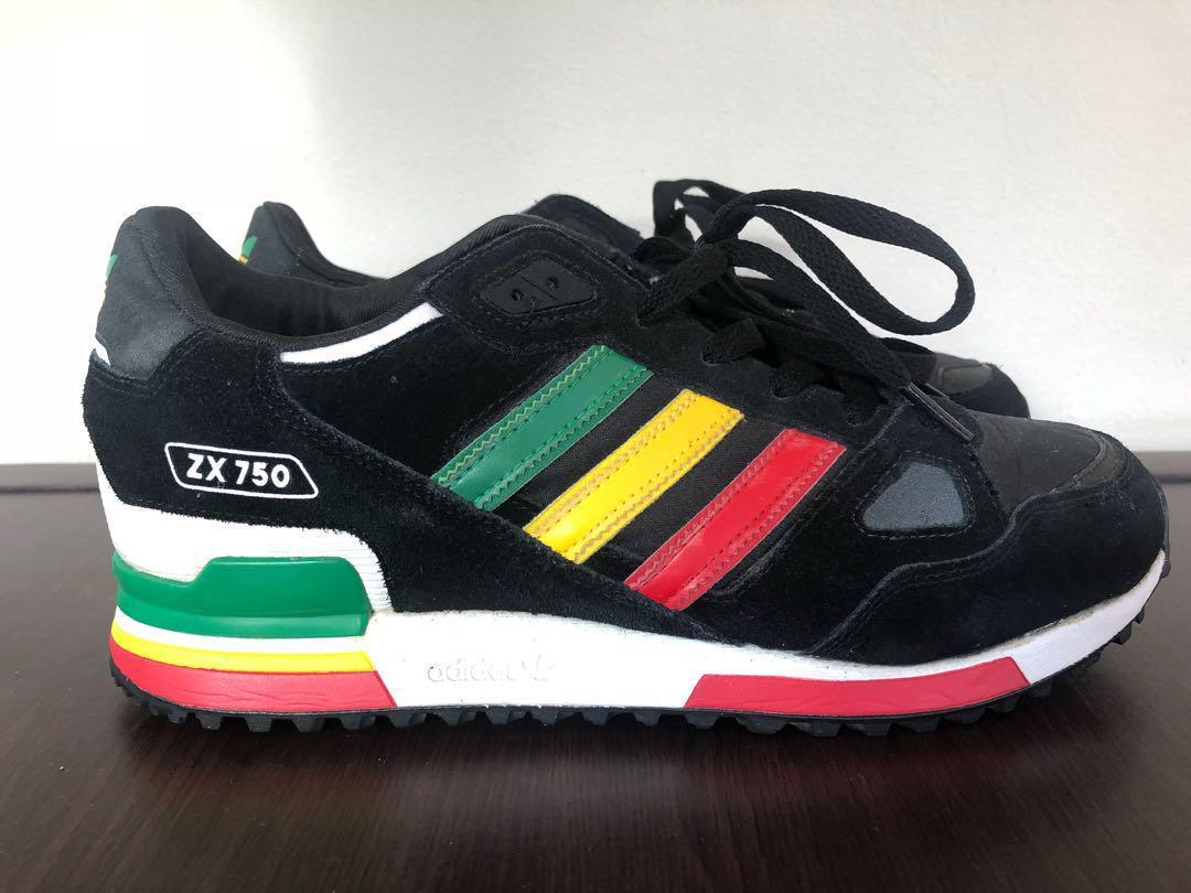 Adidas zx750 rasta, Men's Fashion