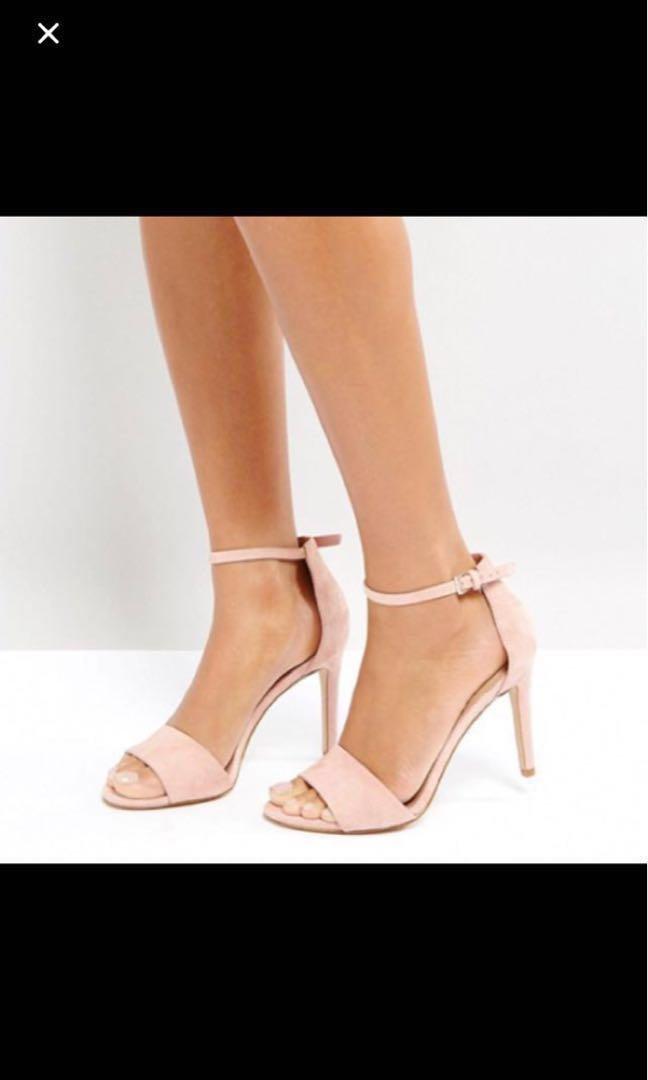 9e892767b60b Aldo fiolla heels in suede pink