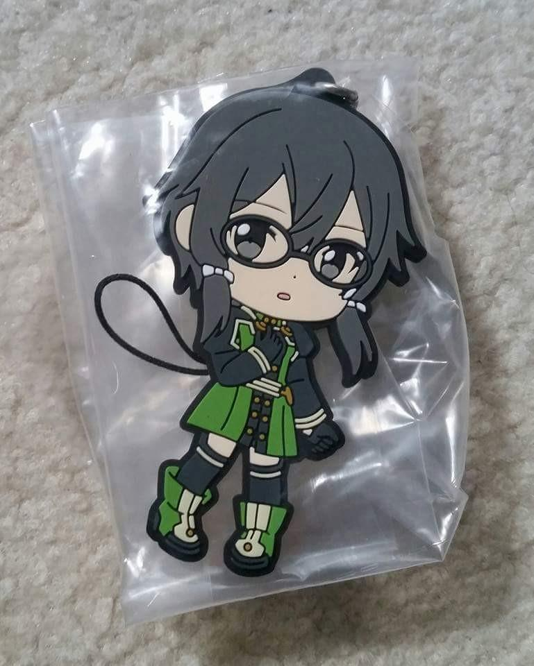 Anime Rubber Charms #2