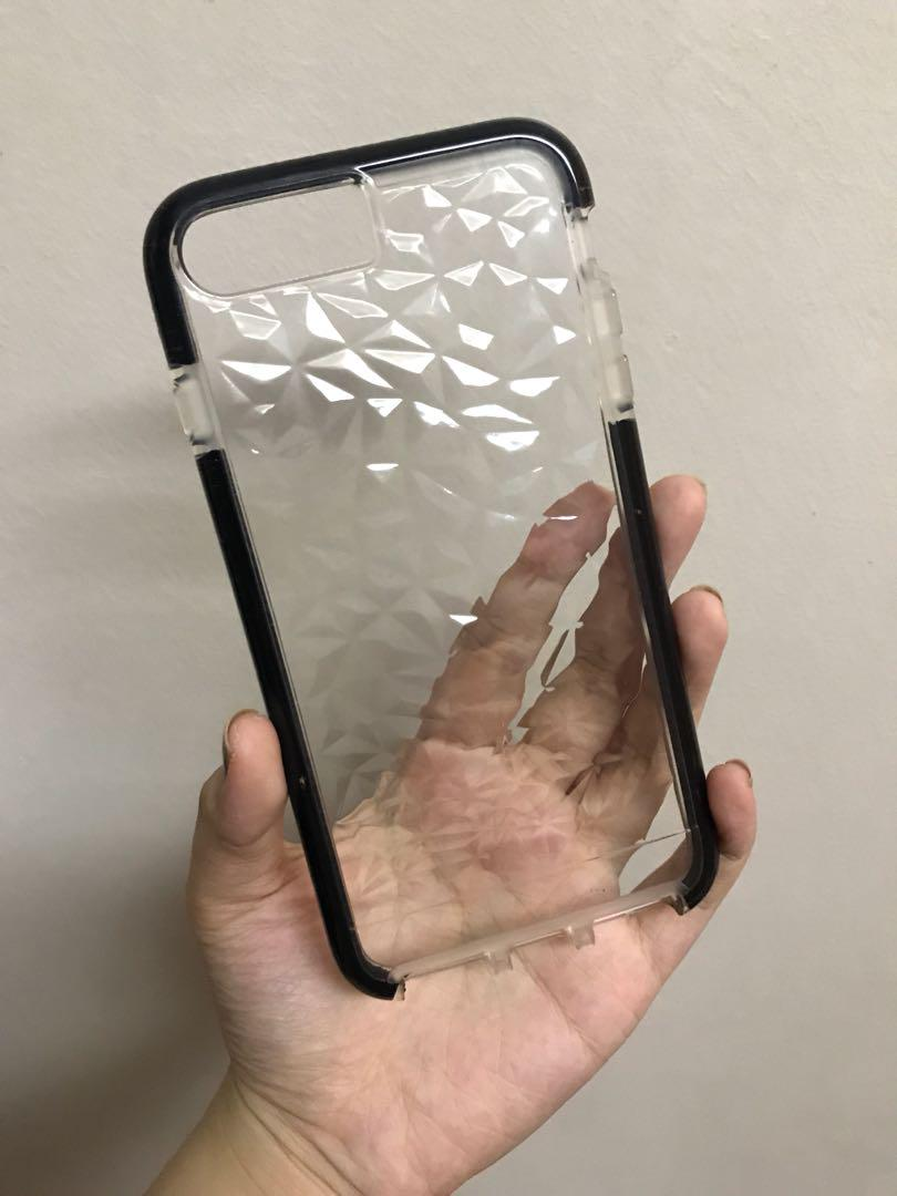 best service 42000 822ce Armor Crystal Case iP7+ on Carousell
