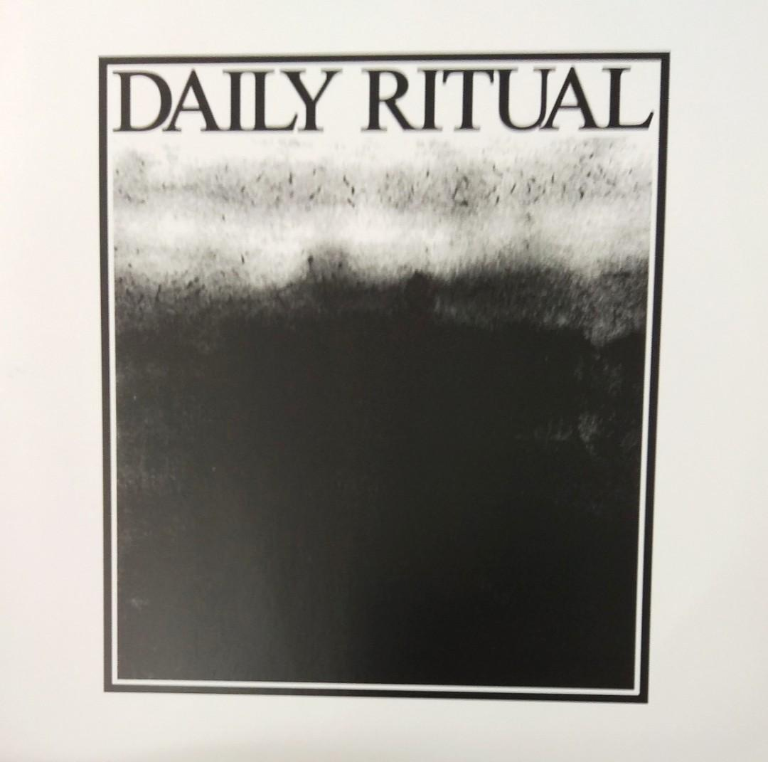 arthlp DAILY RITUAL S/T LP Vinyl Record (Local Band, Singapore)5 piece politically charged melodic punk rock band