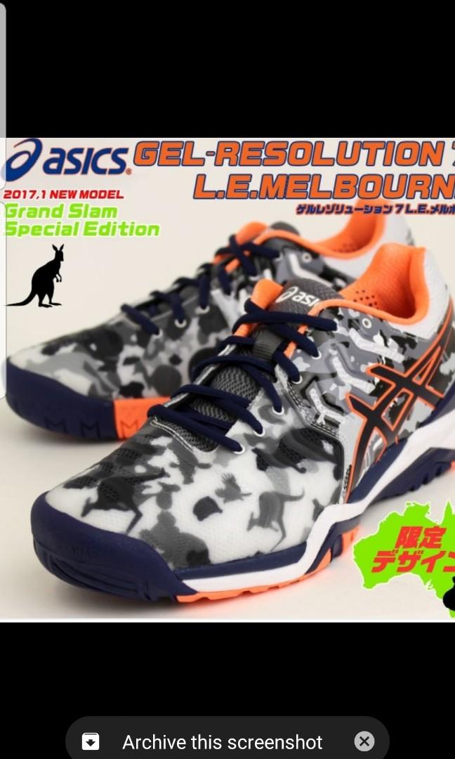 6bad015f71b3c Asics Gel Resolution 7 not Nike Vapor Zoom Ballistec Adidas ...