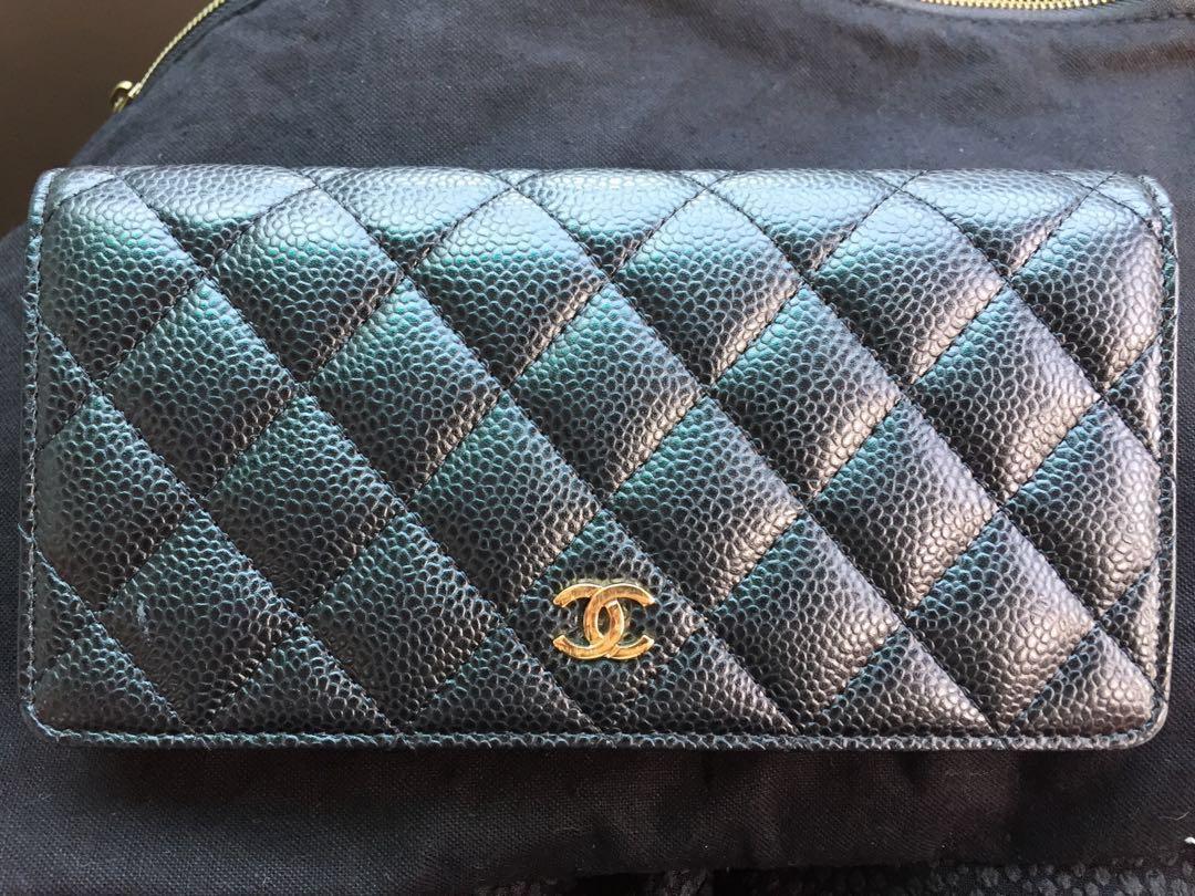 d050332395ec Authentic Chanel Classic Long Wallet