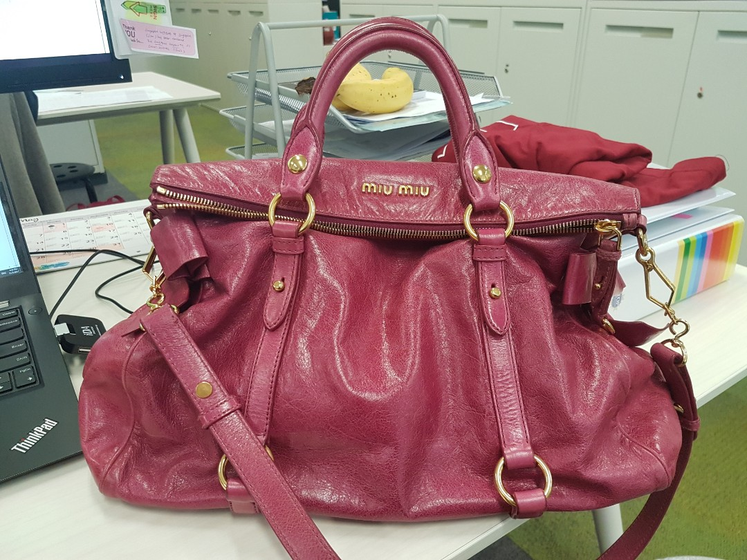 667cd9b59874 Authentic Miu Miu Bow Bag