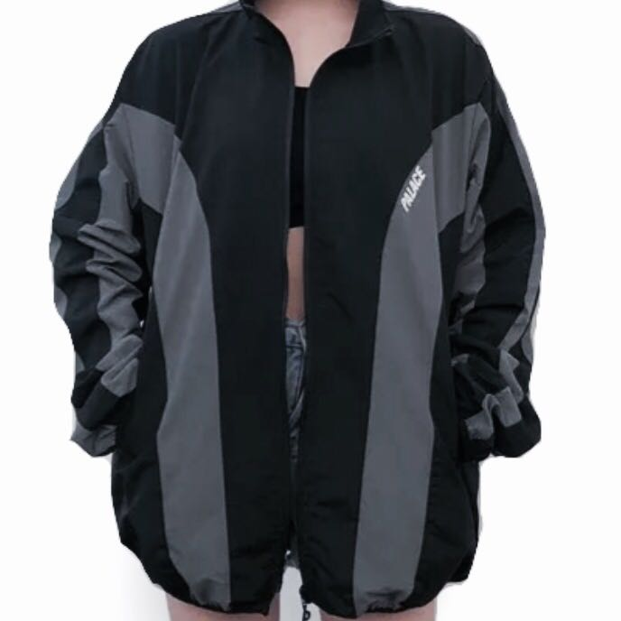 0df1bf130790 Black and gray palace windbreaker
