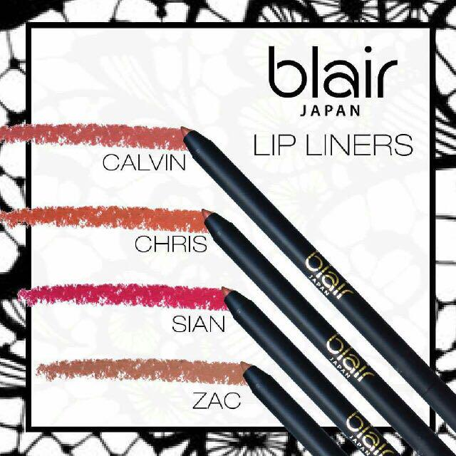 Blair Lipstick with free lip liner until stock last!